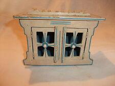 Puppenstube Kaufmannsladen altes Möbel für Großpuppenstuben Bauernschrank Buffet