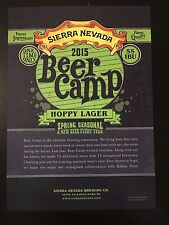 Sierra Nevada Beer Camp, Beer Poster Only a Few Left!
