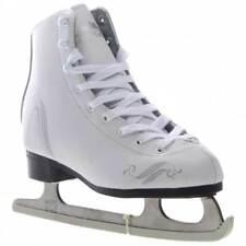 New listing Lake Placid Lp200G Aspen Nib Girls Figure Ice Skate White Size 1 Youth