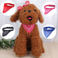 Adjustable pet dog puppy cat neck scarf fashion bandana collar neckerchief BH