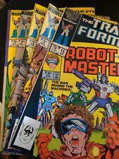 The Transformers Marvel Comics Lot #11,12,13,14 & 15 Dec. 1985-April 1986, NM