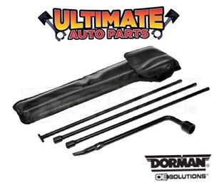 Spare Wheel Tire Jack Handle Tools and Lug Wrench for 05-19 Nissan Frontier