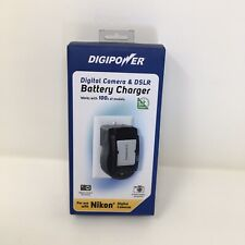DigiPower QC-500NK Nikon Camera Battery Charger w/International Adapter