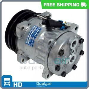 AC Compressor SD7H15 fits Freightliner / Kenworth / Peterbilt QR