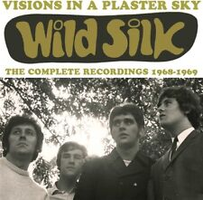 Wild Silk - Visions In A Plaster Sky: Complete Recordings 1968-1969 [New CD] UK