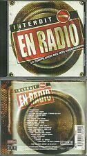 CD + DVD - INTERDIT EN RADIO : BEST OF DES HITS UNDERGROUND COMME NEUF LIKE NEW