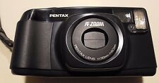 Pentax IQZOOM60 Vintage CAMERA Zoom AF Macro W/ Instruction BOOKLET 38mm w/ BATT