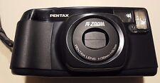 Pentax IQZOOM60 Vintage CAMERA Zoom AF Macro W/ Instruction BOOKLET 38mm w/ BATT