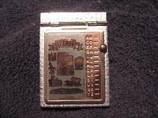 Vintage Utah MINI Pocket Size Metal Flip-Top Address Phone Number Index File