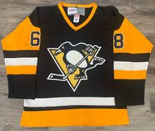 Vintage Jaromir Jagr #68 CCM Pittsburgh Penguins NHL Hockey Jersey Mens Size 50
