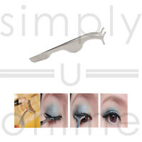False Eyelashes Extensions Applicator Remover Tweezer Clip Tool