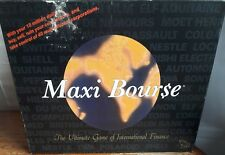 MAXI BOURSE BOARD GAME OF INTERNATIONAL FINANCE - WALL STREET STOCK TRADING VGC