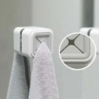 Self Adhesive Towel Holder Hanger Wall Mounted Kitchen Bathroom Sucker Hooks UK