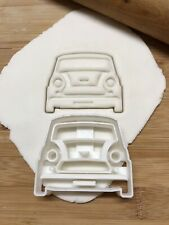 Mini Cooper Cookie Biscuit, Pastry, Fondant Cutter