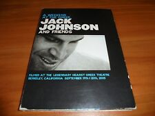 Jack Johnson - Weekend at the Greek/Live in Japan (DVD, 2005, 2-Disc Set) Used
