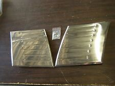 New 1949 1950 1951 Ford Accessory Fender Shields Stainless Trim
