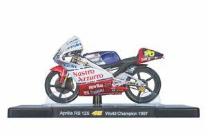 VALENTINO ROSSI Aprilia RS 125 1997 MotoGP Bike - Collectable Model - 1:18 Scale