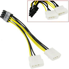 1 x IDE Drive Molex 4 pin to EPS 8 pins Power Cable Adapter  (010)