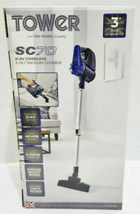 TOWER SC70 21.6V CORDLESS 3-IN-1 VAC T113000 -NEW