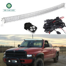 50in 288W Curved LED Work Light Bar +Wiring Harness Offroad Dodge PROMASTER CITY