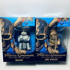 Vinimates Pirates of Caribbean DMTNT 4in Vinyl Figure Jack Sparrow & Salazar Set