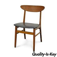 Vintage Farstrup Mid Century Danish Modern Teak Beech Side Chair Dining Desk