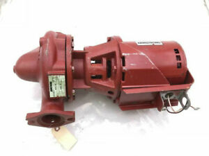 "Armstong H-52-1 Type SS 1/3HP 2"" CI In-Line Circulator Pump 1725RPM"