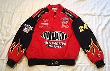 Vintage Jeff Gordon DuPont CHASE AUTHENTICS  Jeff Hamilton Nascar Jacket Size XL