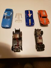 Vintage Lot of HO? AFX? Aurora? Slot Car Chassis & parts lot Untested For Repair