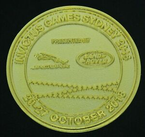 Invictus Games Sydney October 20-27, 2018 Military Olympics Challenge Coin CC-18