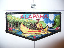 OA Alapaha Lodge 545,S-35a, 2000s Indian Canoe Flap, RED/YEL Feathers,353,98, GA