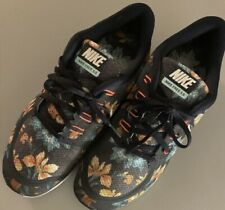 Nike Free 5.0 Photosynthesis Floral Running Sneaker Shoes US/9 Women's