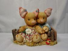 "1994 Enesco This Little Piggy "" Home Su-weeet Home "" Figure In Box"