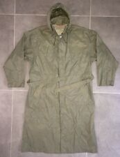 Trench-coat Imperméable Kway Taille L Kaki Veste Vintage Jacket