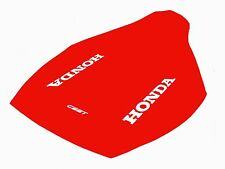 Honda CR125 '90/250 '87-'89/500 '87-'90  Red Seat Cover CR071C