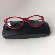 a9010ca0af40 New 100% Authentic Ralph Lauren RL 6099B Red 5310Cat Eye Eyeglasses Frames