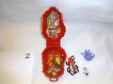 Mighty Max Horror Heads Lava Beast 100% Complete Set Playset Bluebird Toys
