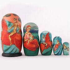 Nesting Doll Petrov Vodkin Bathing of a Red Horse HandPainted Russian Matryoshka