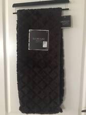 """Nwt Luxury Designer 50"""" X 60 Faux Fur """"Mosaic"""" Throw Warm Cozy Stylish Chocolate"""