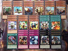 Yugioh Tournament Ready To Play Geargia 46 card Deck Machine Gear Gigant X NM