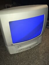 New listing Ge 13 Inch Crt Vhs Combo color Television model 13Tvr72 Euc Missing Power Button