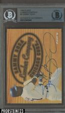 1996 Fleer Lumber Company Sammy Sosa Signed AUTO Cubs BGS BAS Authentic