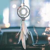 1pcs Pendant Dream Catcher Feather Hanging Rearview Mirror Ornament Accessories