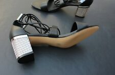 Calvin Klein Women's Natania Lace-Up Block-Heel Sandals (NWOB Retail $104)