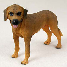 Rhodesian Ridgeback Hand Painted Collectible Dog Figurine
