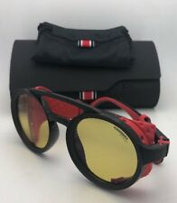 CARRERA Sunglasses 5046/S 003HW 49-24 Black & Red w/ Side Shields & Yellow Lens