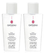 Gatineau Gentle Waterproof Eye Make Up Makeup Remover TRAVEL SIZE DUO: 2 X 50ml