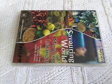 SAVOURING THE WORLD- VOL. 1- MOROCCO AND LEBANON –DVD, R-4, LIKE NEW, FREE POST