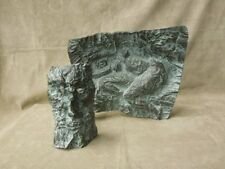 ABSTRACT Bronze DEVIL & LADY Sculpture Signed by CZECH Sculptor Josef Klimeš '92