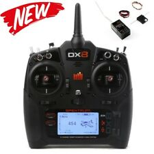 Spektrum SPM8015 DX8 8-Channel DSMX Transmitter Gen 2 with AR8010T Mode 2
